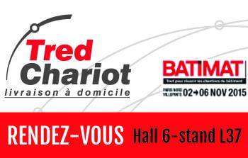 Tred Chariot logo Batimat 2015