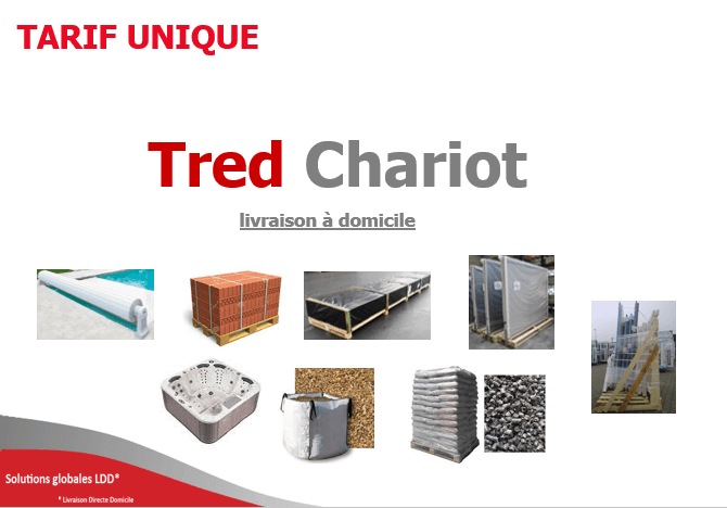 Tarif unique France Tred Chariot 2015