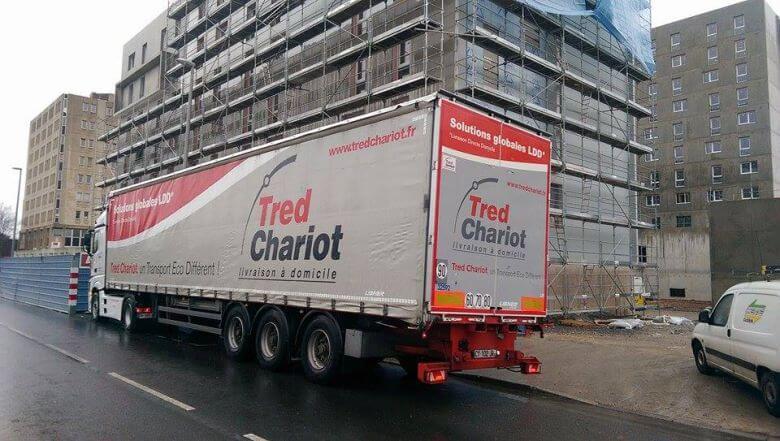Stationnement camion