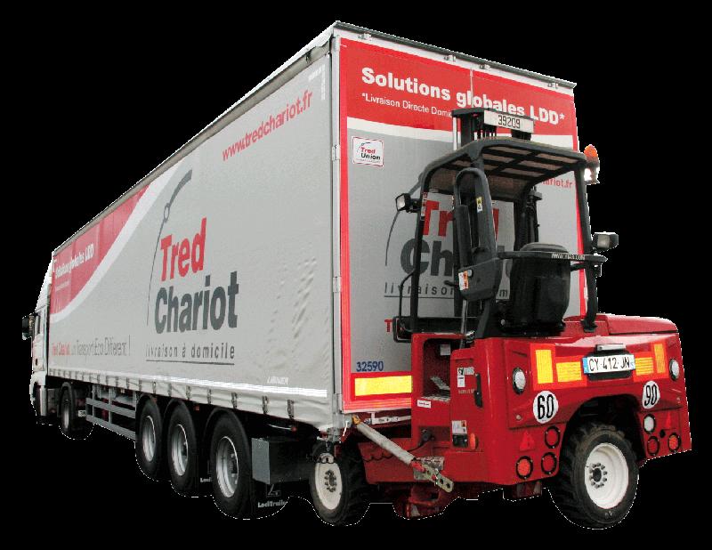 200 trucks mounted forklift