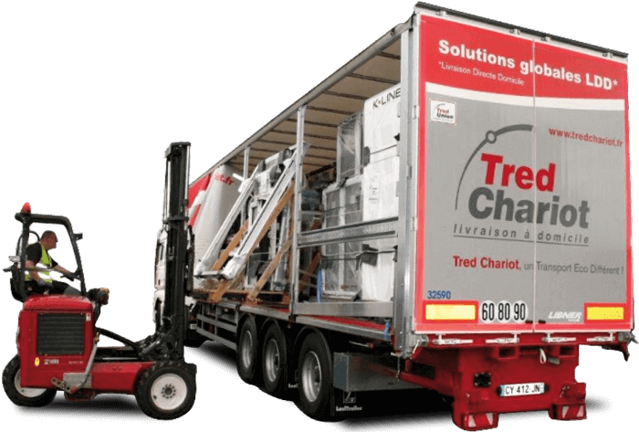 Trucks mounted forklift Tred Chariot 2015